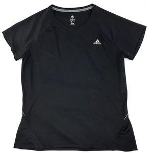 Adidas Climalite Athletic Running Reflective Tee